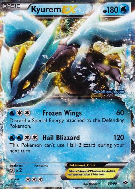 Kyurem ex next destinies set pokemon card review - Carte kyurem ex ...