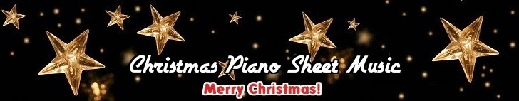 christmas piano sheet music