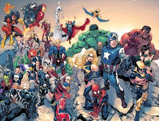 Marvel Comics HD Wallpaper
