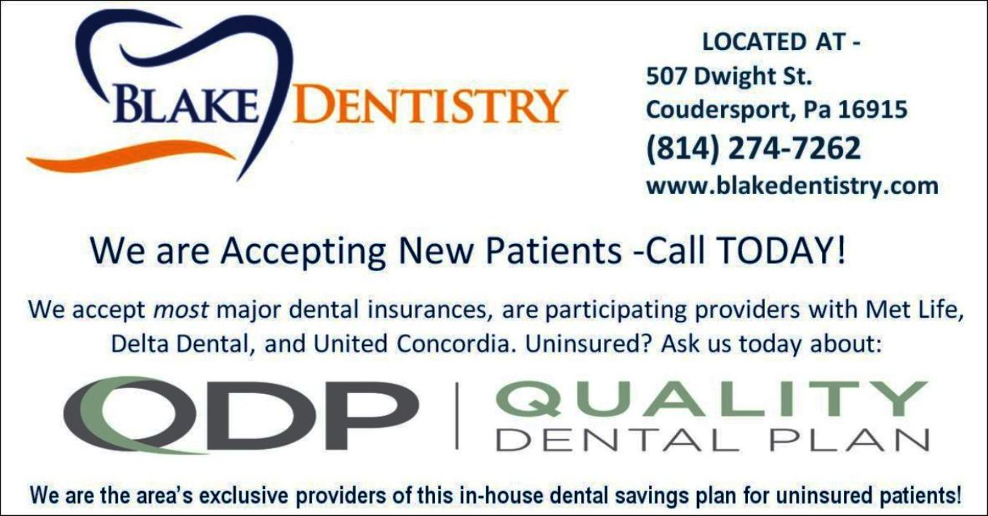 Blake Dentistry, Coundersport, PA