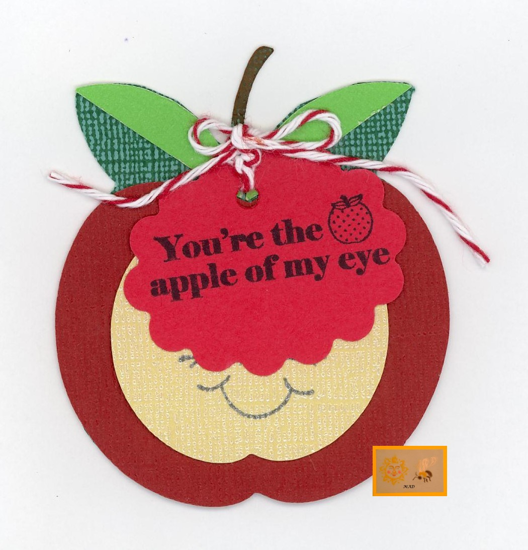 Created by Sunshine HoneyBee: You are the apple of my eye Tag