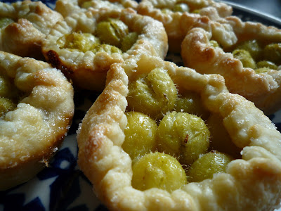 Gooseberry tart