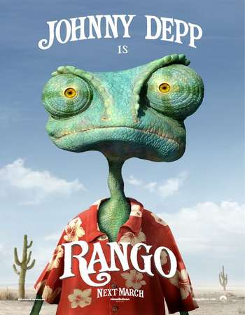 Rango 2011 Hindi Dubbed 300MB BluRay 480p ESubs
