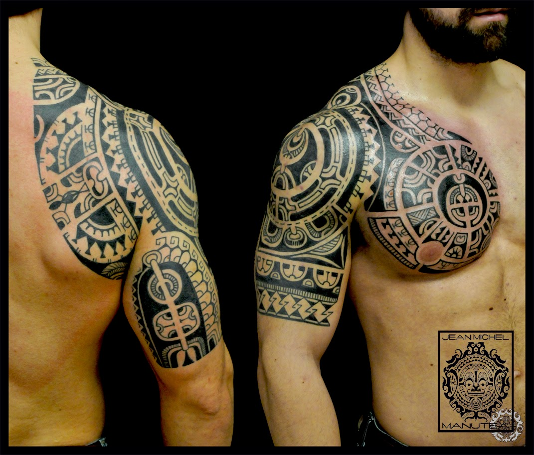 tatouage polynesien-polynesian tattoo: January 2015