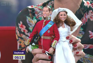 Kate Middleton as Dolls