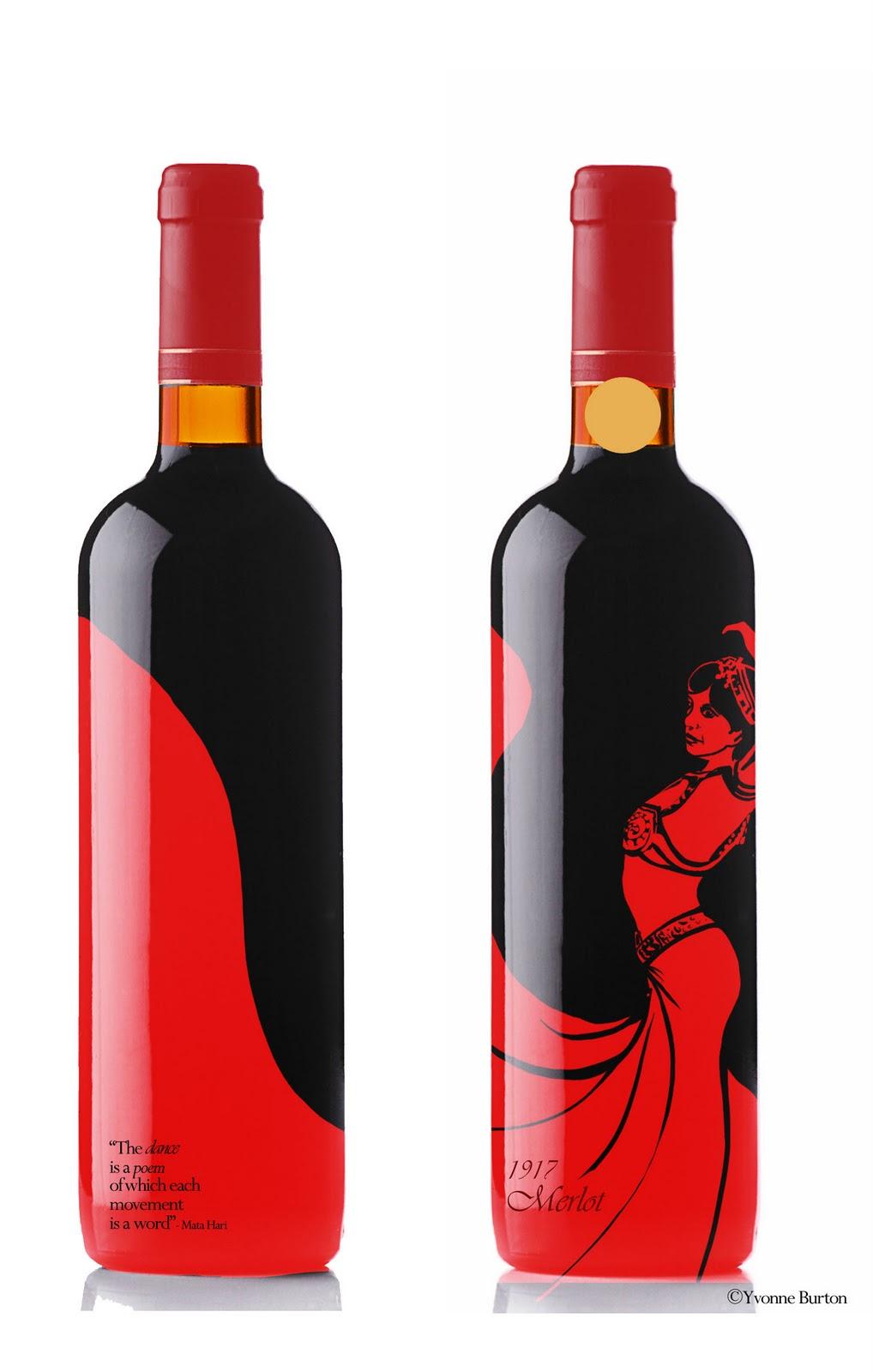 Spy Wine Bottle Design | Artistic Inception
