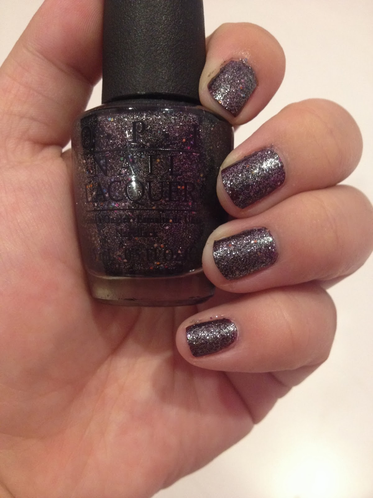 A Journey to the Rainbow: How\'s it Snowin? by OPI Nail Polish Review