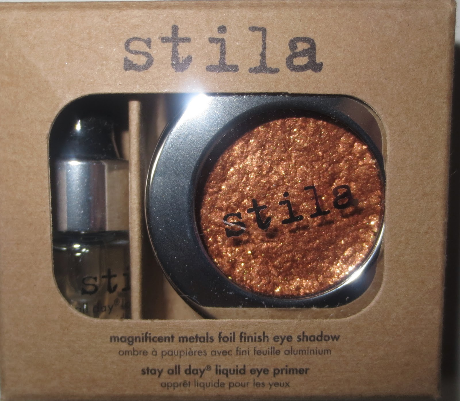 Stila Magnificent Metals Foil Finish Eye Shadow - Comex Copper