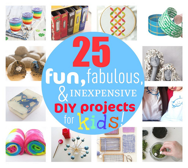 The Rikrak Studio 25 Fun Fabulous Inexpensive Diy