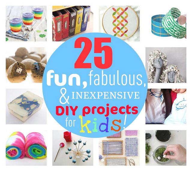 The Rikrak Studio 25 Fun Fabulous Inexpensive Diy