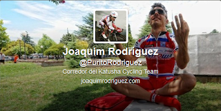 Imagen de la cuenta en Twitter de Joaquim Rodríguez