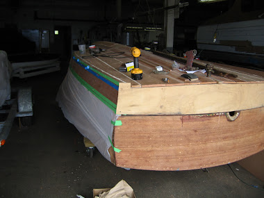 Before - Chris Craft Sportsman, Replanking Bottom
