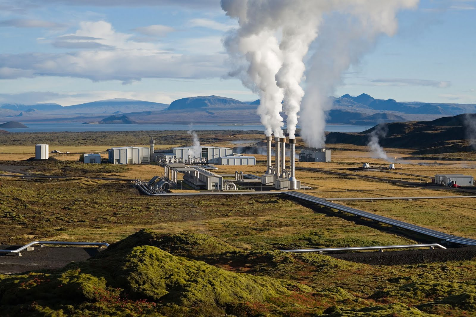 Geothermal Power Plant Animation Geothermal Power Plant in