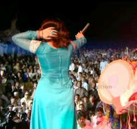 Nighat Naz :::: Home: Nighat Naz Back Side Hot Photo During Songs