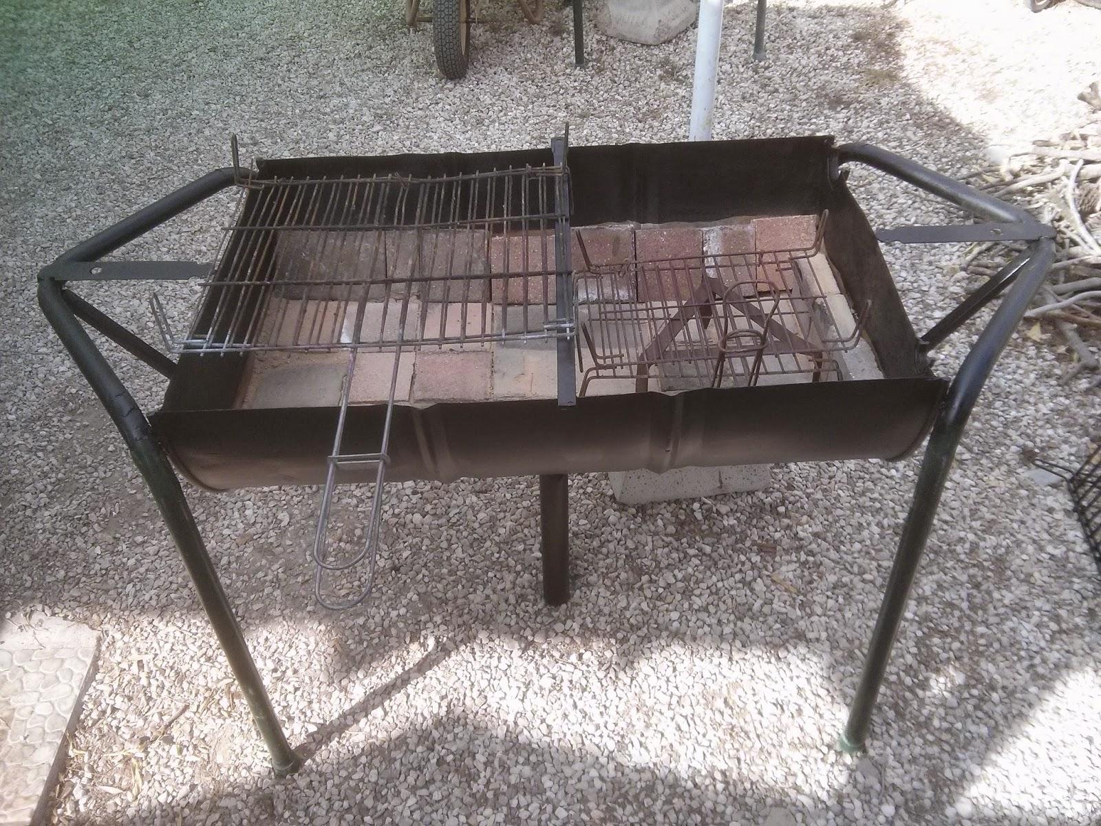 Como hacer una barbacoa de hierro casera