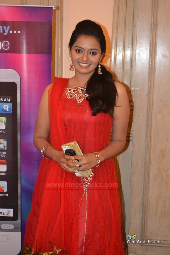 Tv Actress Aishwarya in Red Suit1 - Aishwarya Tv Actress Photo Gallery
