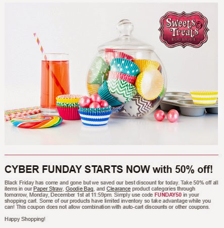 Cyber Monday Party Supply Deals Sweets Treats Boutique