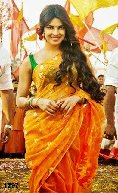Priyanka chopra orange saree in gunday