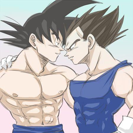 Gay goku pic