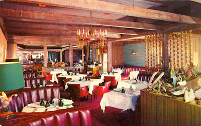 Interior The Wild Goose Restaurant Sherman Oaks Vintage Postcard Gift To Museum Of San Fernando Valley 2017 From Gary Fredburg Click On Image