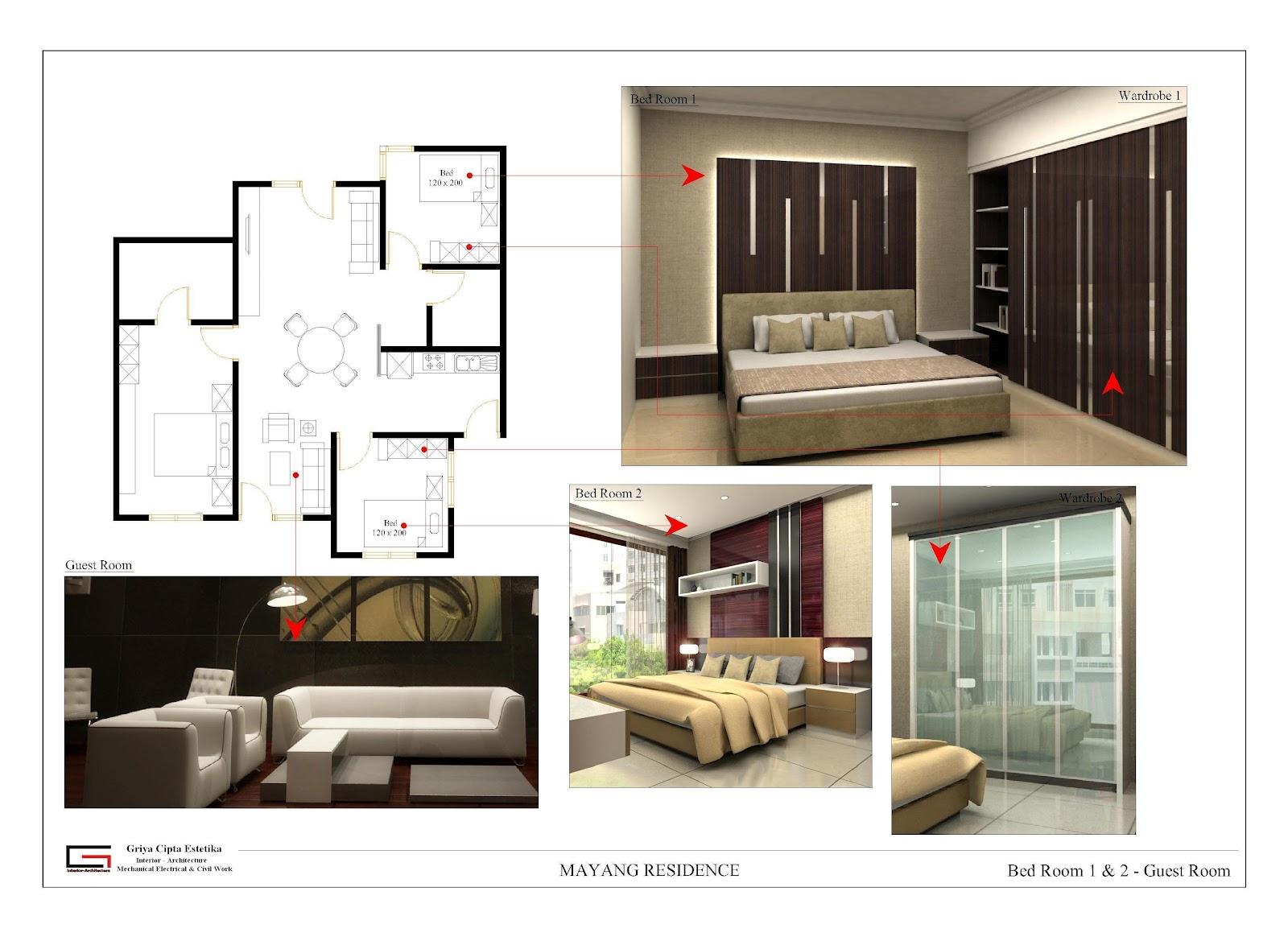 interior minimalis memberikan kesan mewah pada rumah tinggal