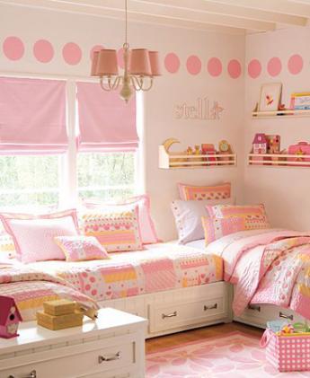 interior source little girl bedroom