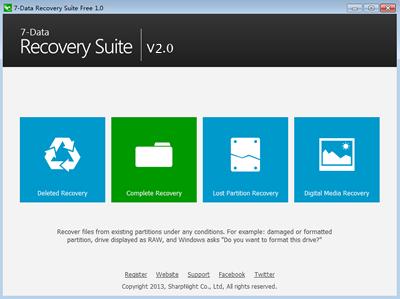 Miễn phí phần mềm 7-Data Recovery Suite 1 năm