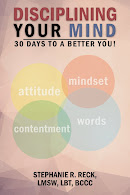 "To order a copy of my latest book release, ""Disciplining your mind, 30 days to a better you."""