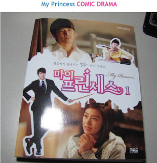 All about korean drama : Queen Bee: My Princess versi komik