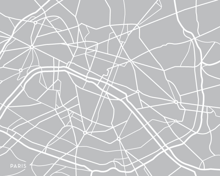 Mummy Maggie Chronicles Modern Maps A New Hearted Etsy Shop - Modern map of paris