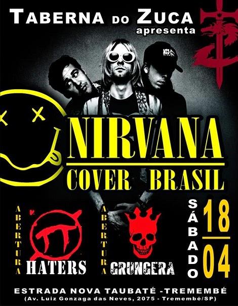 18-04-2015 - NIRVANA COVER BRASIL - Tremembé - SP