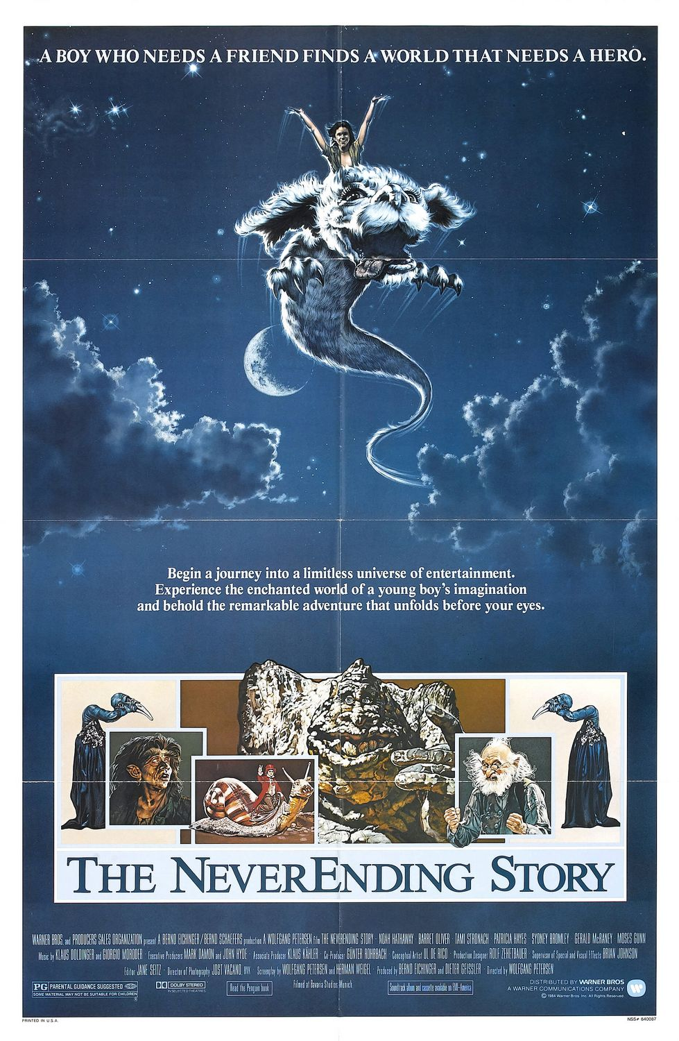 a never ending story Well, what i'm trying to say here is that this is a great film and with an excellent story the acting, directing, special effects, and everything else is just excellent in this film.