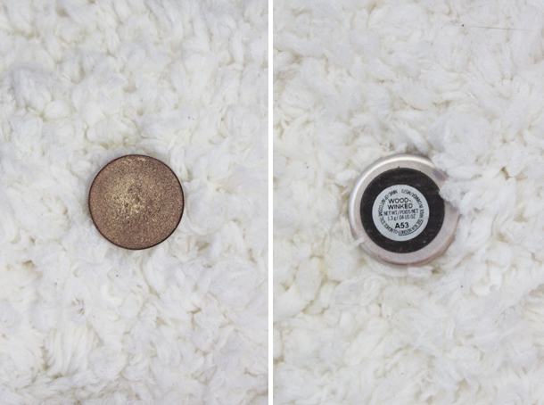 mac woodwinked eyeshadow review
