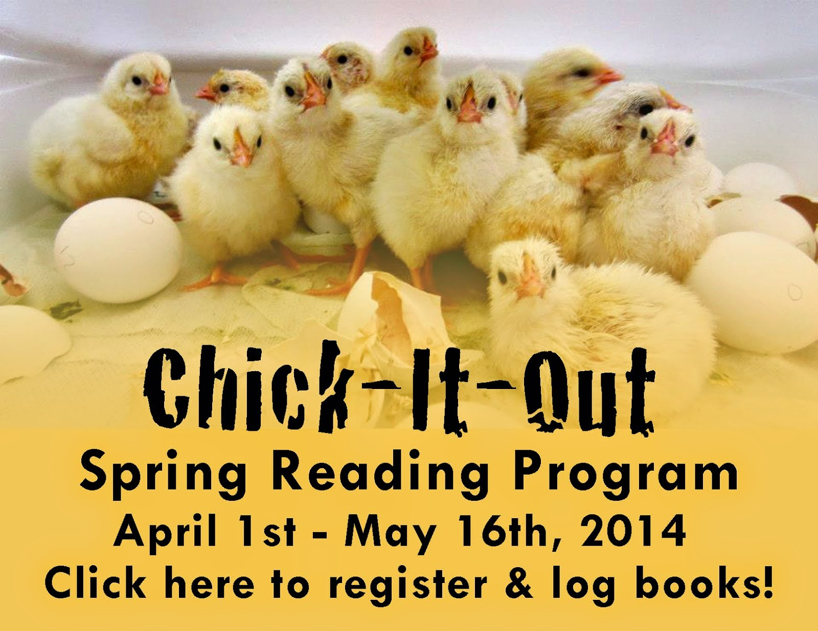 Chick It Out Reading Program