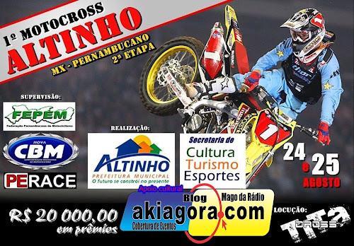 1º Motocross de Altinho