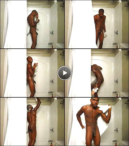 hot male in shower video