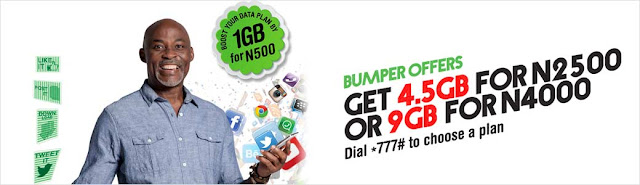 List of all Glo data plans and subscription codes