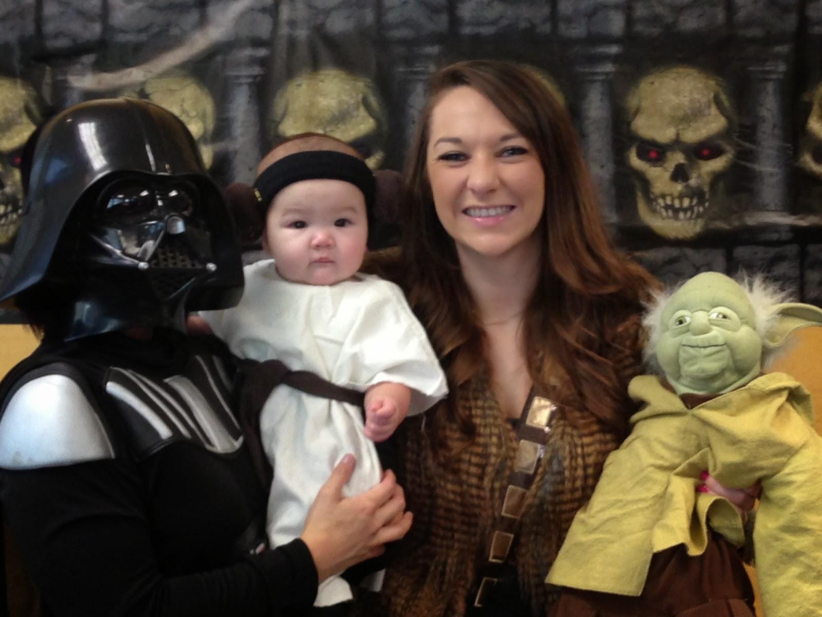 San Diego HR Mom: Happy Halloween! Ladybug and Princess Leia Costumes
