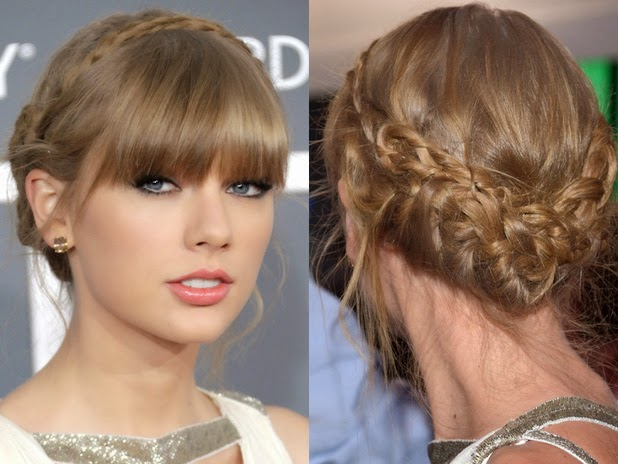Updo braids