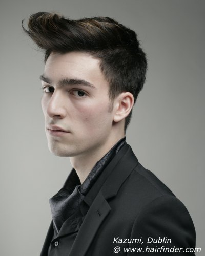 alternative male hairstyles homecoming