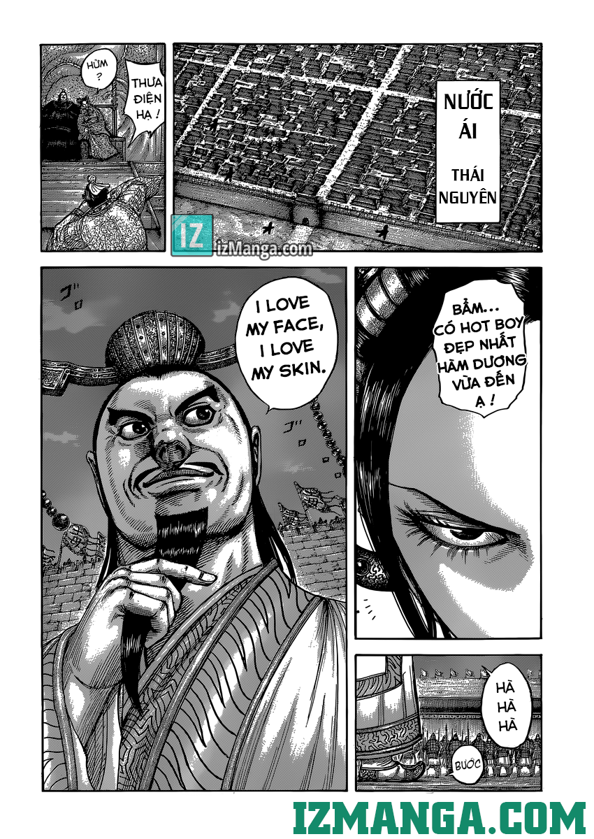 Kingdom - Vương Giả Thiên Hạ Chapter 405-406 Phim Tình Cảm Hàn page 39 - IZTruyenTranh.com