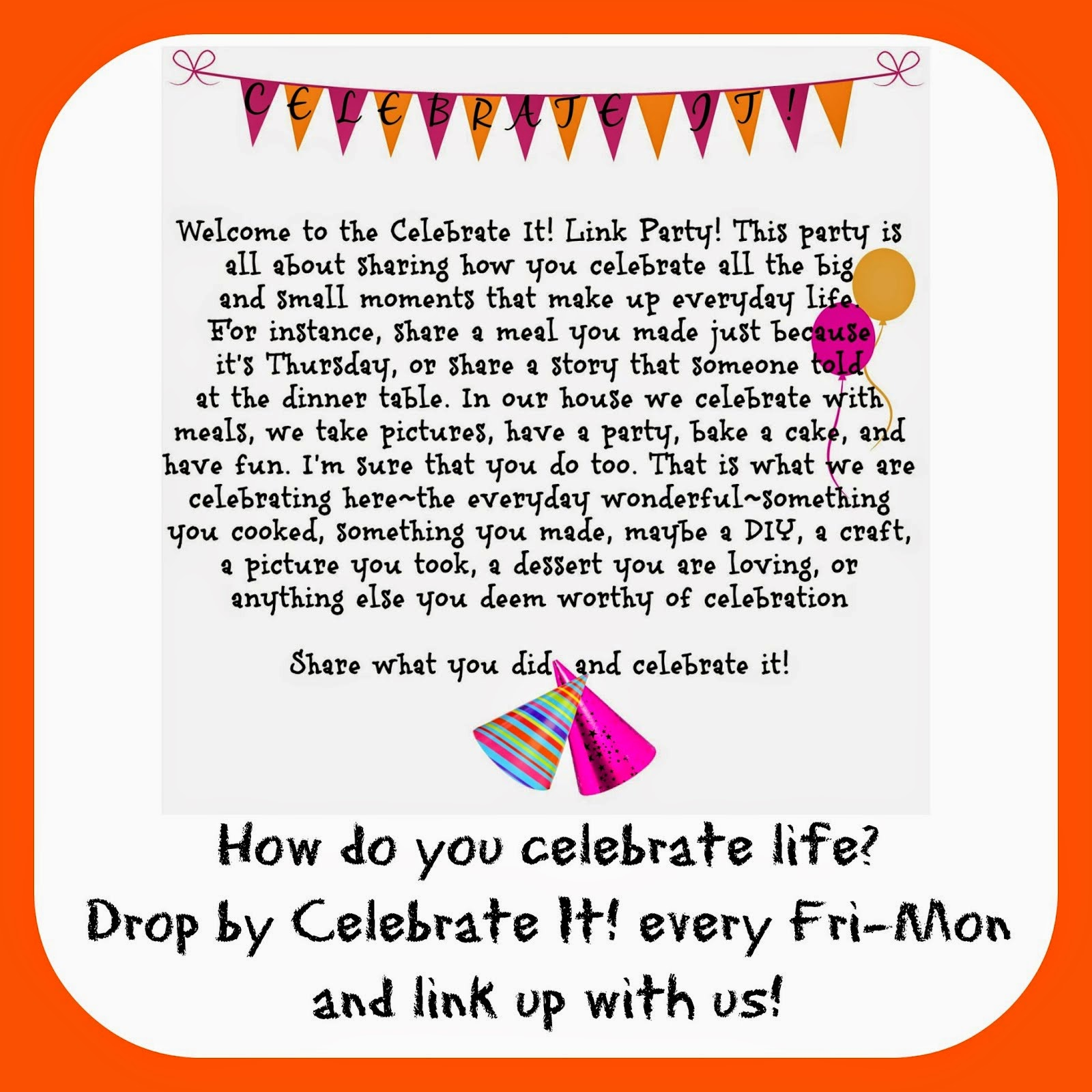 Join our Blog Party!