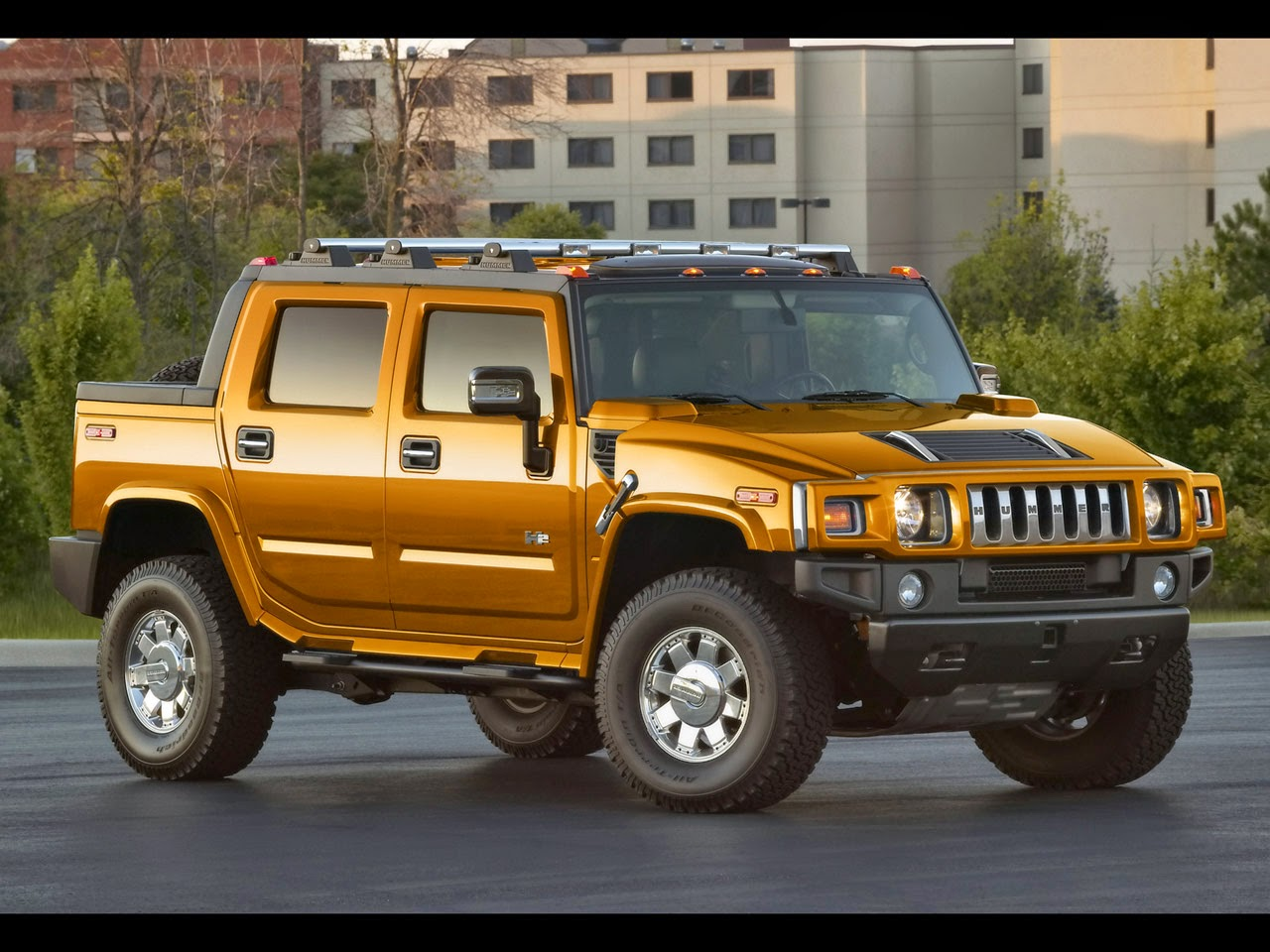 2009 Hummer H2 Sut Used Auto Review Pickup Truck 2015