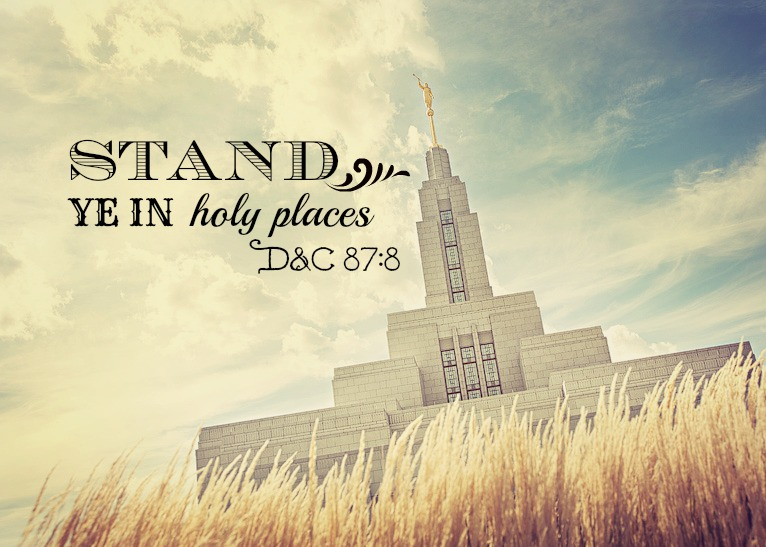 All Things Bright And Beautiful Stand Ye In Holy Places