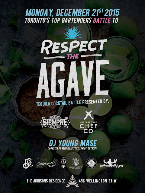 Respect the Agave, Cocktail Battle, Tequila, Toronto, Ontario, Canada, The Purple Scarf, MelaniePs