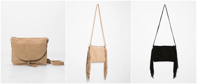 Przegląd: torebki z frędzlami