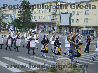 Participare Grecia la Festivalul folcoric de muzica si dans din Deva - Romania
