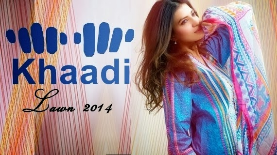 Khaadi Lawn Collection  2014