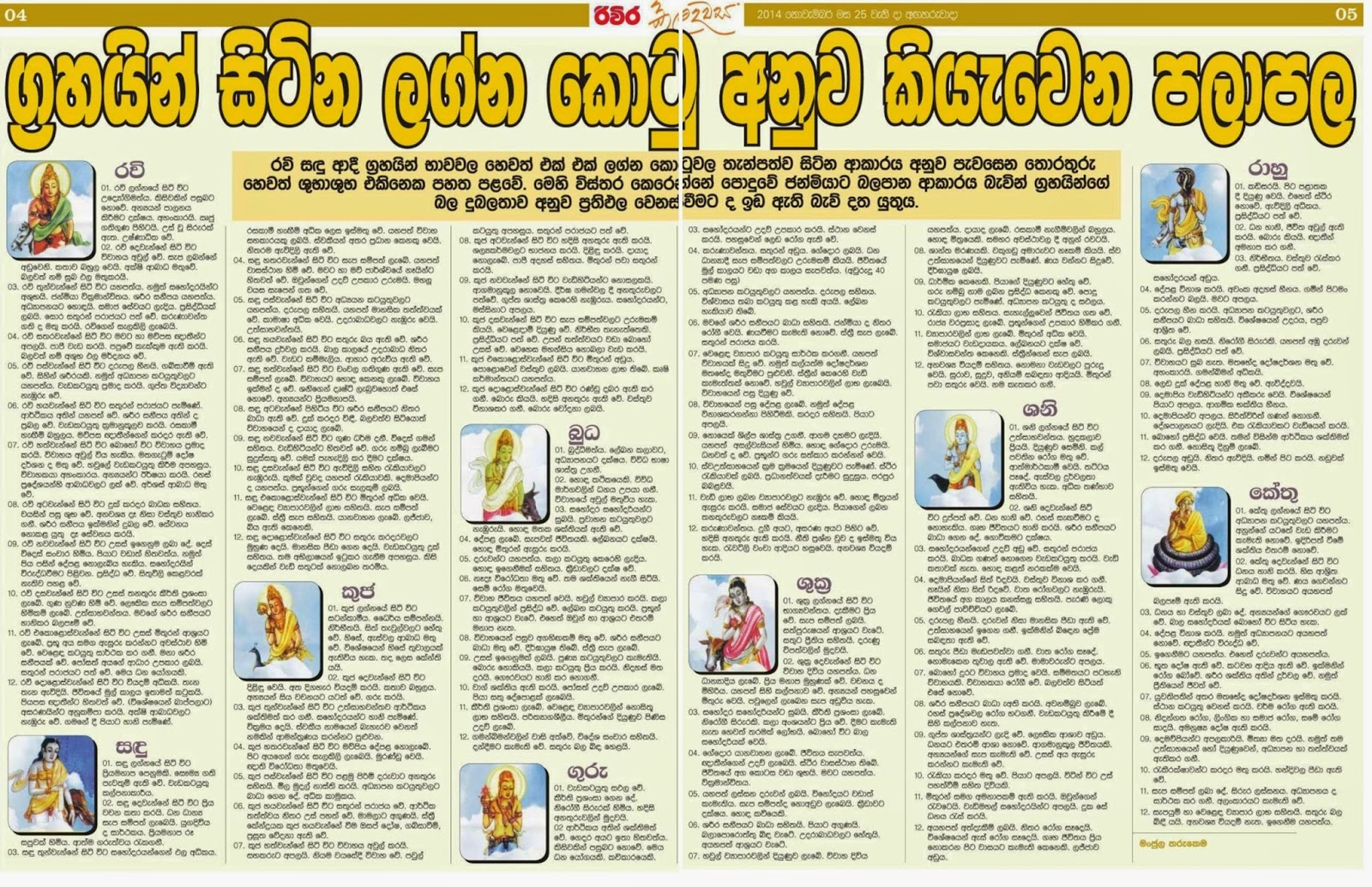 "ග්‍à¶à·""යන් අනුව පලාපල Astrology Grahas (Planets adbabdf  Astrology Grahas Planets"