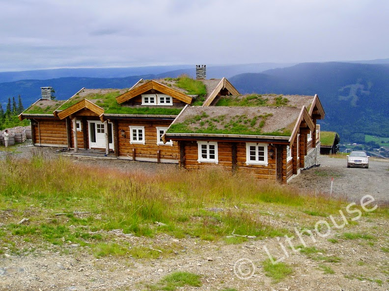 Building eco wooden house scandinavian style log houses - Norwegian wood houses ...